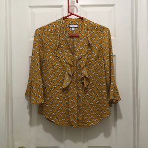 3/$25 Charter Club ruffle blouse